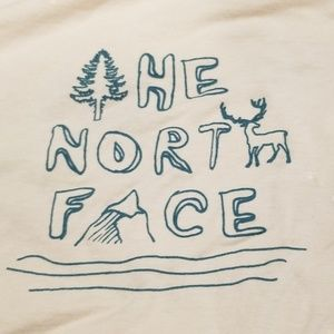 🌲2/$12🌲North Face Distressed Tee